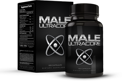 Box and Bottle of Male UltraCore